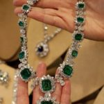Elizabeth Taylor's Emerald and Diamond Necklace