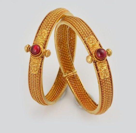 maharashtrian gold kadas