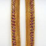 Gemstone Bangles from Totaram Jewellers
