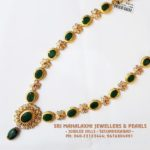 Emeralds and Uncuts Necklace from SriMahalakshmi Jewellers