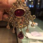 26 Gms Polki Pendant with Single Cut Diamond