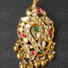 kundan peacock pendant from hiya designer jewellery