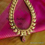 Gold Coated Pure Silver Mango Mala from Pink Panther