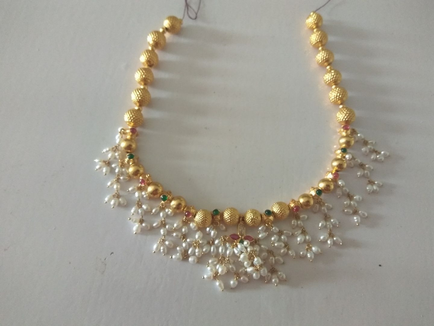 gold light product xuping necklace weight jewellery wedding layered color detail
